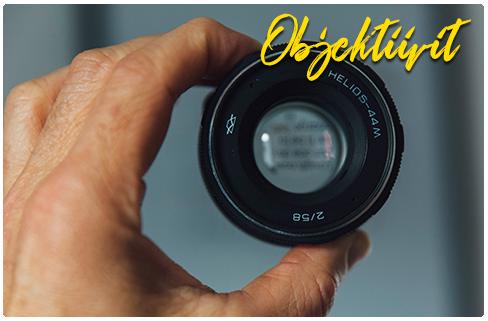 Rajala Käytetyt - main objektiivit