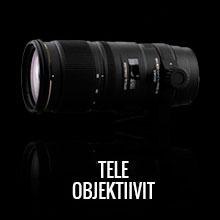 Sigma teleobjektiivit
