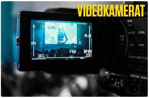 Rajala Kamerat - main videokamerat