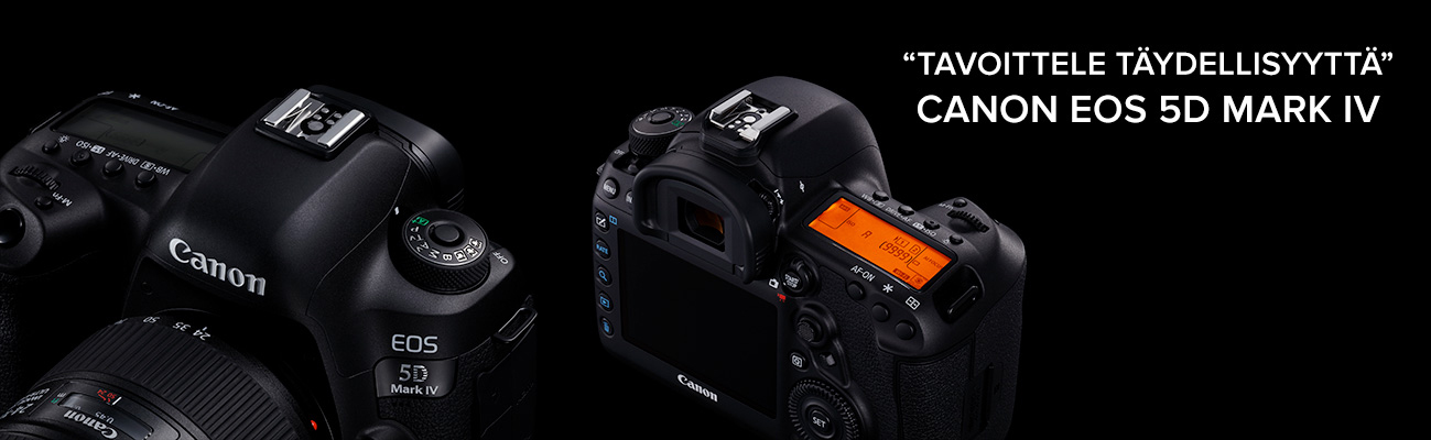 Canon EOS 5D Mark IV - Tavoittele täydellisyyttä